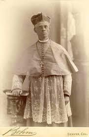 Photograph of Bishop Machebeuf