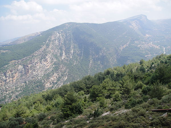 Photograph of Mount Lebanon